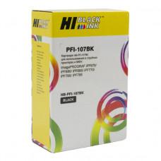 Картридж Hi-Black (PFI-107BK) для Canon iPF680/685/780/785, Bk