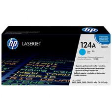 Картридж 124A для HP CLJ 1600/2600N/2605, 2К (O) голубой Q6001A