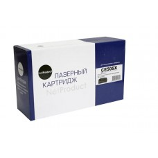 Картридж NetProduct (N-CE505X) для HP LJ P2055/P2050/Canon №719H
