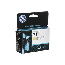 Картридж HP DJ T120/T520 (О) CZ132A, №711, Y, 29мл