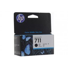 Картридж HP DJ T120/T520 (О) CZ129A, №711, BK, 38мл