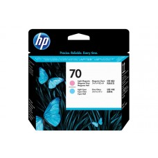 Печатающая головка №70 HP DJ Z2100/Z3100 light magenta + light c