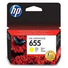 Картридж HP DJ IA 3525/5525/4515/4525 (O) №655, CZ112AE, Y, 600с