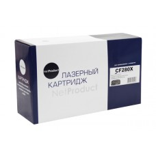 Картридж NetProduct (N-CF280X) для HP LJ Pro 400 M401/Pro 400 MF