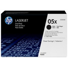 Картридж HP LJ P2055d/dn (CE505XD) черный Двойная упаковка 2*6.5