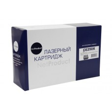 Картридж NetProduct (N-CE250X) для HP CLJ CP3525/CM3530, Восстан