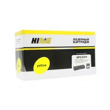 Картридж Hi-Black (HB-SPC220Y) для Ricoh Aficio SPC220DN/C221DN/