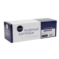 Картридж NetProduct (N-CB436A) для HP LJ P1505/M1120/M1522, 2K