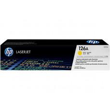 Картридж HP CLJ CP1025/1025nw (O) №126A, CE312A, Y, 1K