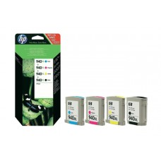 Картридж HP Officejet Pro 8000/8500 №940XL (O) C2N93AE, BK/Tri-c