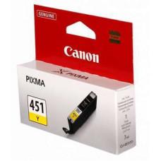 Картридж Canon PIXMA iP7240/MG6340/MG5440 (O) CLI-451Y, Y