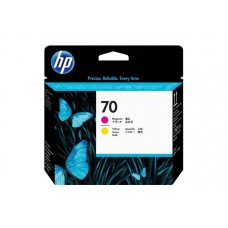Печатающая головка №70 HP DJ Z2100/Z3100 magenta + yellow (O) C9