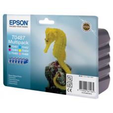 Картридж (комплект 6шт) Epson Stylus R200/320 (O) C13T04874010,